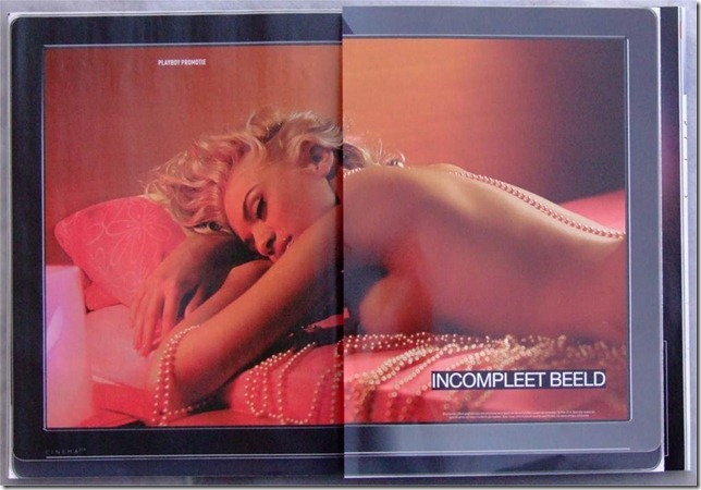 Philips 21:9 Advertisement, Dutch Playboy December 2009